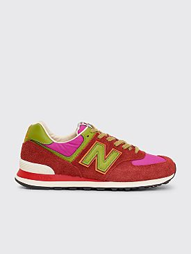 New Balance x Stray Rats ML574 Red