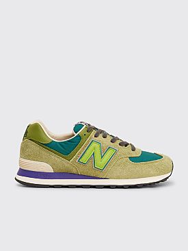 New Balance x Stray Rats ML574 Green