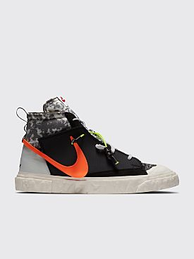 Nike x READYMADE Blazer Mid Black / Total Orange