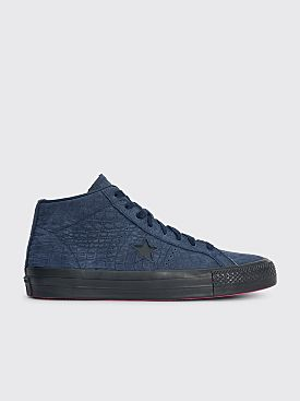 Converse CONS One Star Pro Mid Obsidian / Hyper Pink