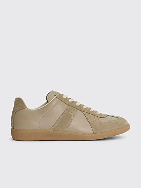 Maison Margiela Replica Low Top Sneakers Beige