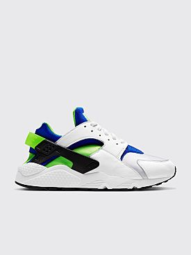 Nike Air Huarache White / Scream Green