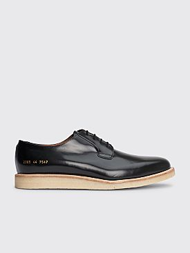 Common Projects Derby Shine Black White Sole