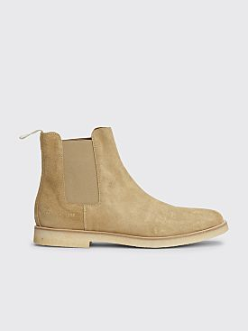 Common Projects Chelsea Boot Suede Tan