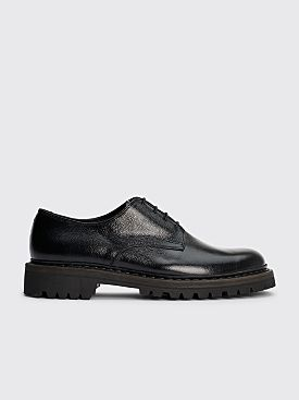 Our Legacy Uniform Commando Army Grain Leather Shoes Black