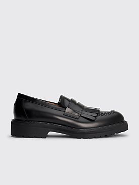Dries Van Noten Leather Loafers Black