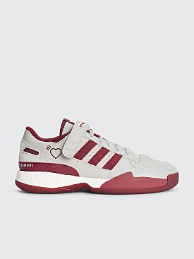 adidas x Human Made Forum L Grey Two / Collegiate Burgundy