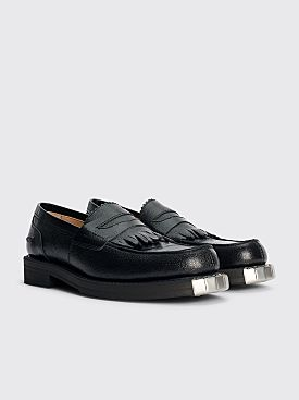 Our Legacy Army Grain Leather Loafer Black