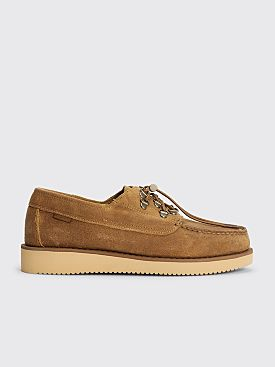 Engineered Garments x Sebago Overlap Moccasin Beige Taffy