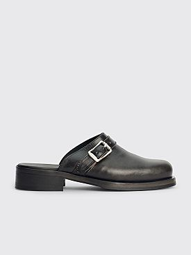 Our Legacy Camion Mule Worn Leather Black