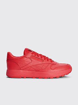 Reebok x Maison Margiela Classic Leather Tabi Sneakers Red