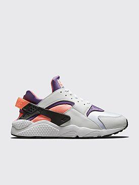 Nike Air Huarache White / Purple-Bright Mango