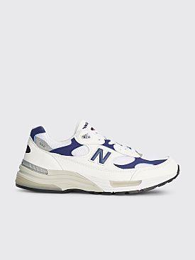 New Balance M992 White / Blue