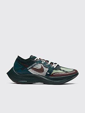Nike Gyakusou ZoomX Next% Vaporfly Midnight Spruce / Deep Burgundy