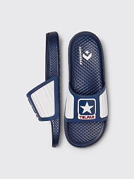 Converse x Telfar All Star Slide Navy