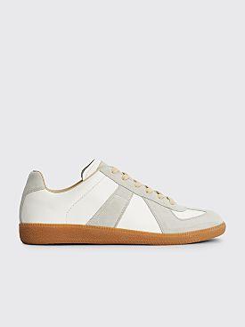 Maison Margiela Replica Low Top Sneakers White