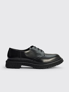 Adieu Type 132 Leather Derby Shoes Polido Black
