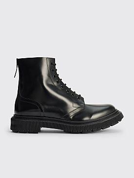 Adieu Type 165 Leather Boots Polido Black