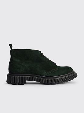 Adieu Type 121 Suede Low Boots Dark Green