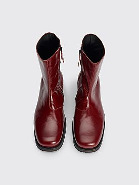 Our Legacy Camion Boot Oxblood Leather