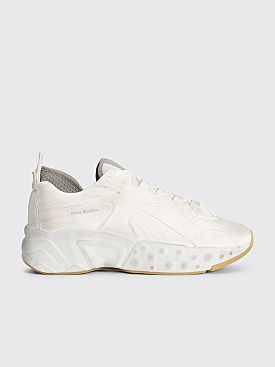 Acne Studios Rockaway Sneakers Tumbled White