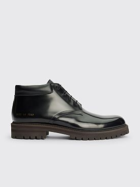 Common Projects Combat Derby Boots Black
