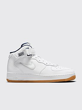 Nike Air Force 1 Mid 07 QS White / Midnight Navy