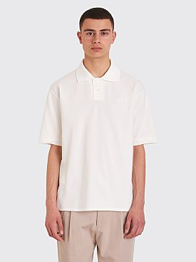 Margaret Howell x Fred Perry Pique Shirt White