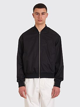 Margaret Howell x Fred Perry Tennis Bomber Jacket Black