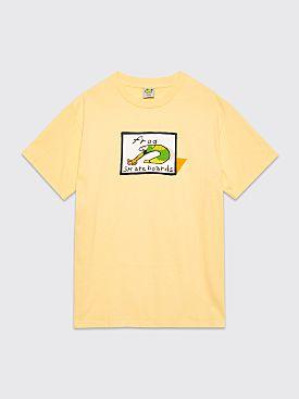 Frog Classic Logo T-shirt Yellow