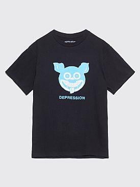 Fucking Awesome Depression T-shirt Black