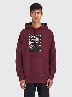 Fucking Awesome Scream French Terry Hooded Sweatshirt Maroon