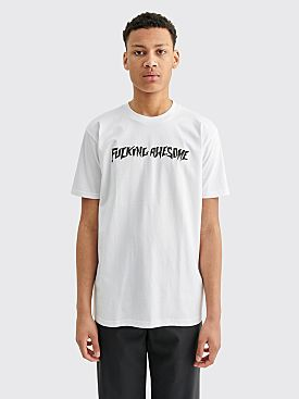 Fucking Awesome Puff Outline Logo T-shirt White
