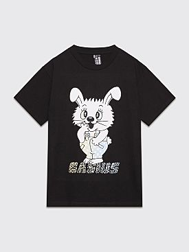Gasius Sticker Bunny T-shirt Black