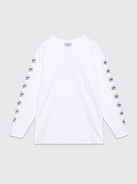 Gimme Five Capitol LS T-shirt White