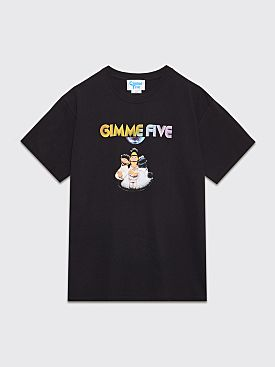 Gimme Five Night Fever Sesame Street Fever T-shirt Black