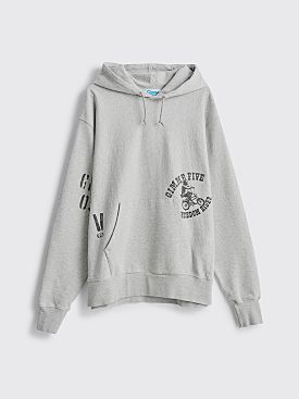 Gimme Five Famous Hooded Sweatshirt Heather Grey