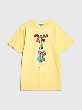 Gimme Five Dorothy T-shirt Yellow