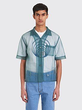 GmbH Luka Bowling Shirt Dark Turquoise