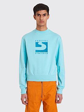 GmbH Berg Sweatshirt Turquoise
