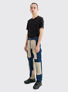 GmbH Anton Patchwork Jeans Indigo / Beige
