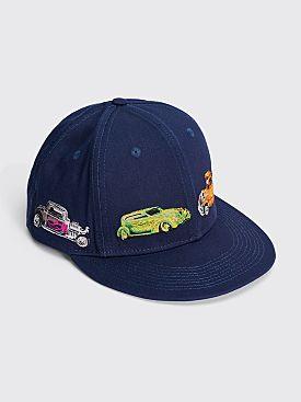 Classic Griptape Hot Wheels Hat Navy
