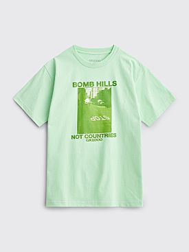 GX1000 Bomb Hills Not Countries T-shirt Mint