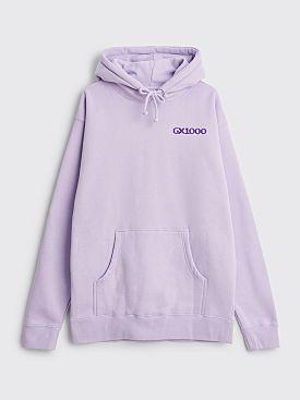 GX1000 Bipolar Hooded Sweatshirt Lavender