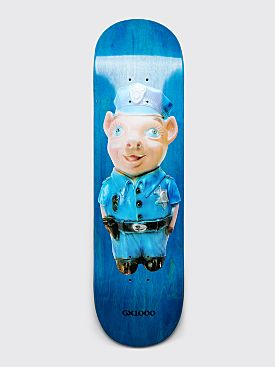 "GX1000 Pig 2 Skateboard Deck 8.5"" Blue"