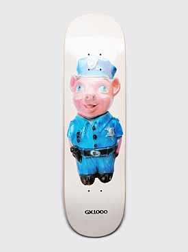 "GX1000 Pig 2 Skateboard Deck 8.5"" White"