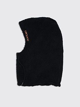 GX1000 Detached Fleece Hood Black