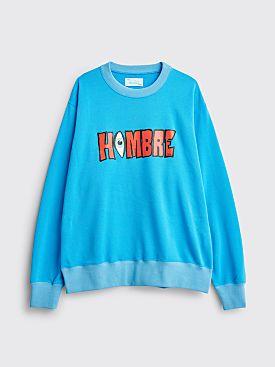 Hombre Niño Eye Logo Sweatshirt Blue