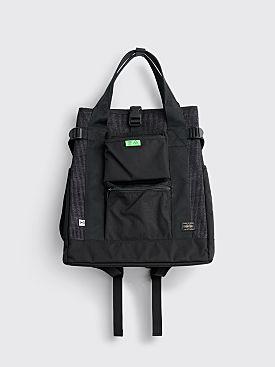 Hombre Niño x Porter 2Way Tote Bag Black