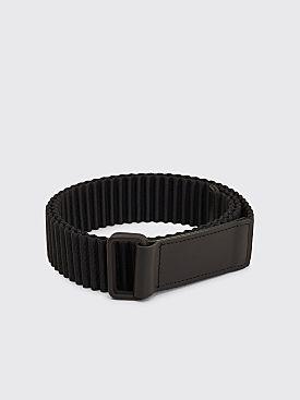 Homme Plissé Issey Miyake Pleated Belt Black